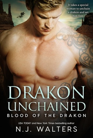 Cover Reveal   Drakon Unchained by N.J. Walters
