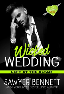 Release Day | Wicked Wedding by Sawyer Bennett