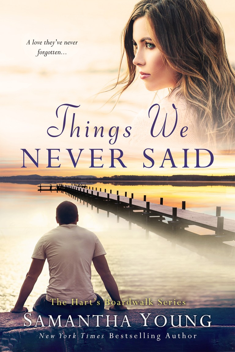 #CoverLove | Things We Never Said by Samantha Young