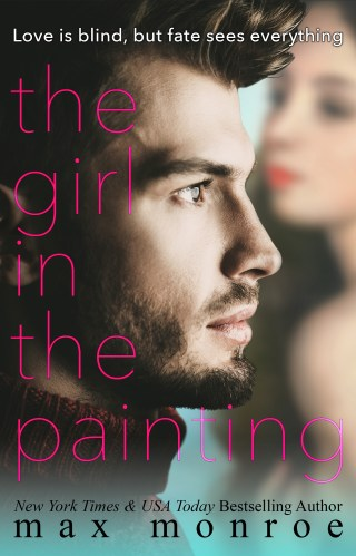 #CoverLove | The Girl in the Painting by Max Monroe