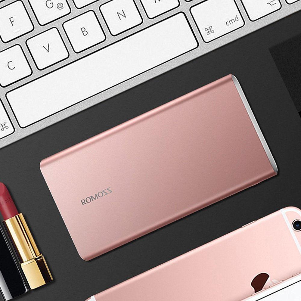 baterie externa Romoss GT1 rosegold 10000 mah
