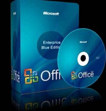 Office 2007 Enterprise Blue Edition avec la clé d'activation