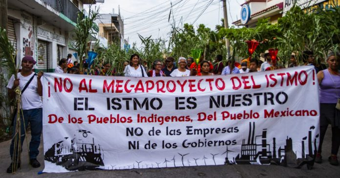 """El Istmo es nuestro"""": pueblos indígenas fortalecen lucha contra Corredor  Interoceánico ~ Rompeviento TV"""