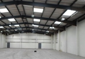 Before Mezzanine Floor Installation