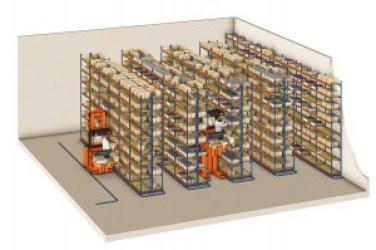 Longspan - Warehouse Shelving