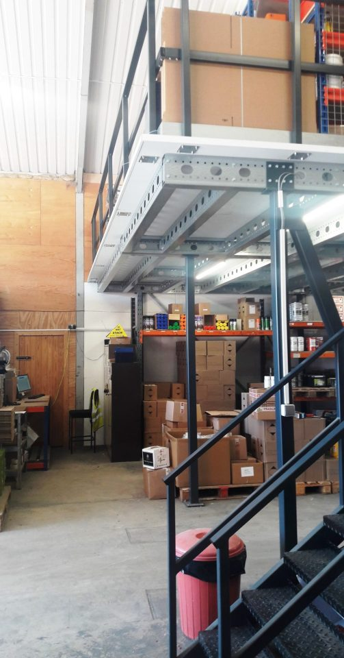 Mezzanine and Shelving Andrew Maskery