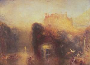 Turner's 'Queen Mab' (1846) demonstrated many of the key qualities of the Romantic fairy, particularly their small size and ethereal beauty