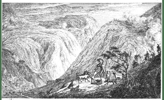 Fig. 1. James Skene, 'Tod Willie', Series of Sketches (1829)