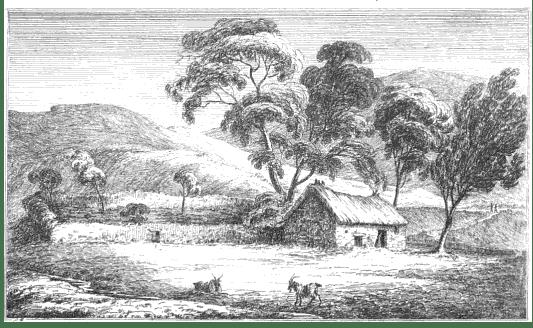 Fig. 2: James Skene, 'The Dwarf's Hut', Series of Sketches (1829)