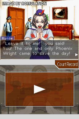 Phoenix Wright Ace Attorney Justice For All USA NDS