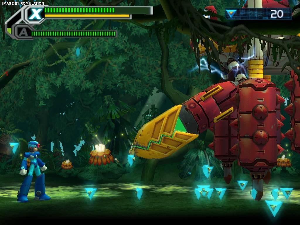 Mega Man X8 Usa Ps2 Sony Playstation 2 Iso Download