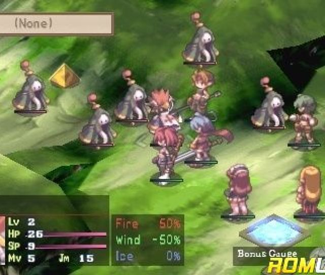 Disgaea Afternoon Of Darkness For Psp Screenshot