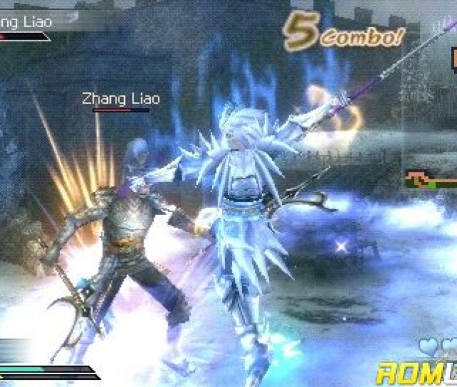 Dynasty Warriors Strikeforce For Psp Screenshot