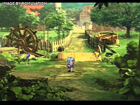 Star Ocean The Second Story USA PSX Sony PlayStation