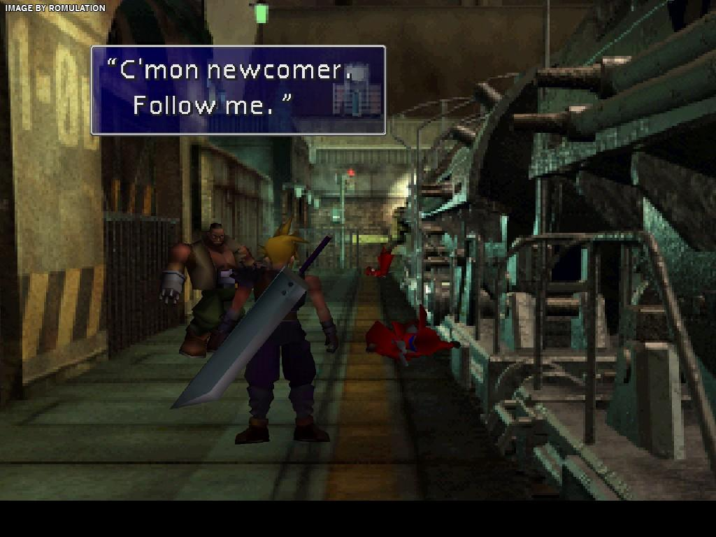 Final Fantasy VII Disc 2 Of 3 USA PSX Sony PlayStation