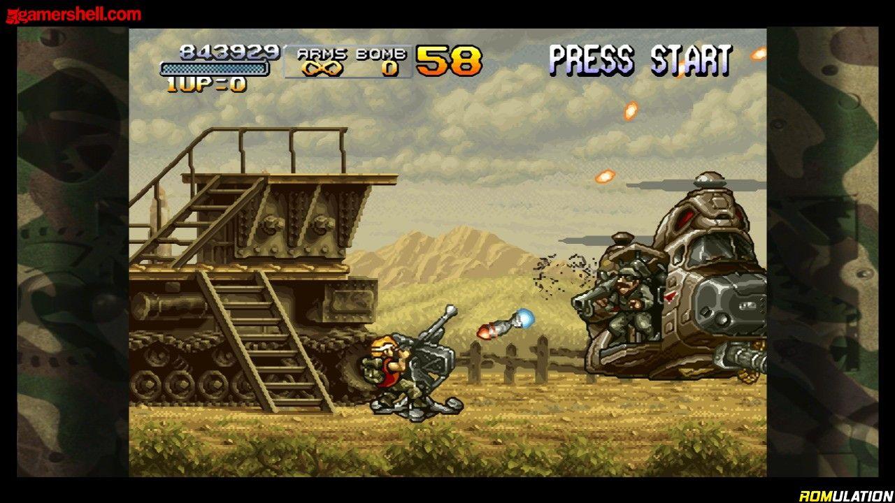 Metal Slug Anthology USA Nintendo Wii ISO Download
