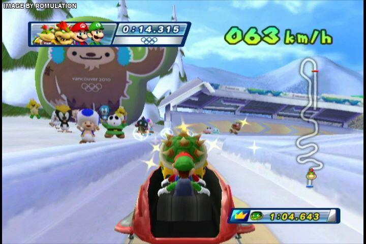Mario Amp Sonic At The Olympic Winter Games USA Nintendo