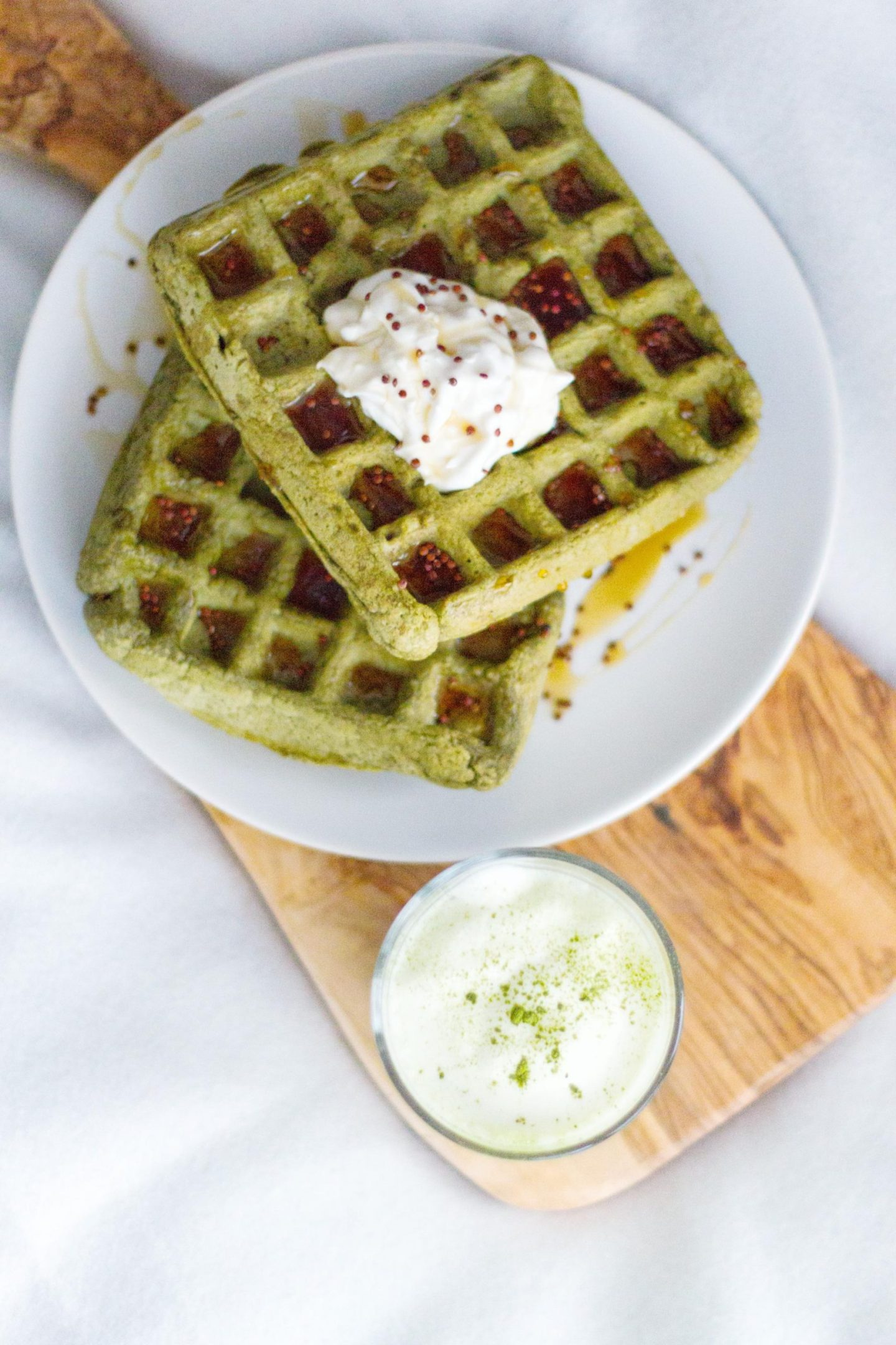 Matcha-Green-Tea-Waffels