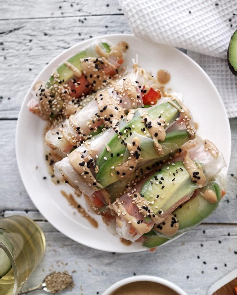 Vegan Summer Rolls Recipe