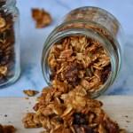 Homemade Granola with Cinnamon & Cardamom