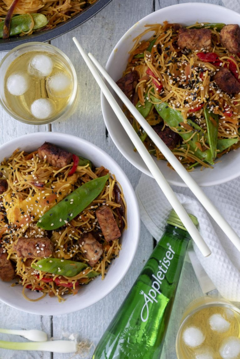 Vegan Singapore Noodles Recipe