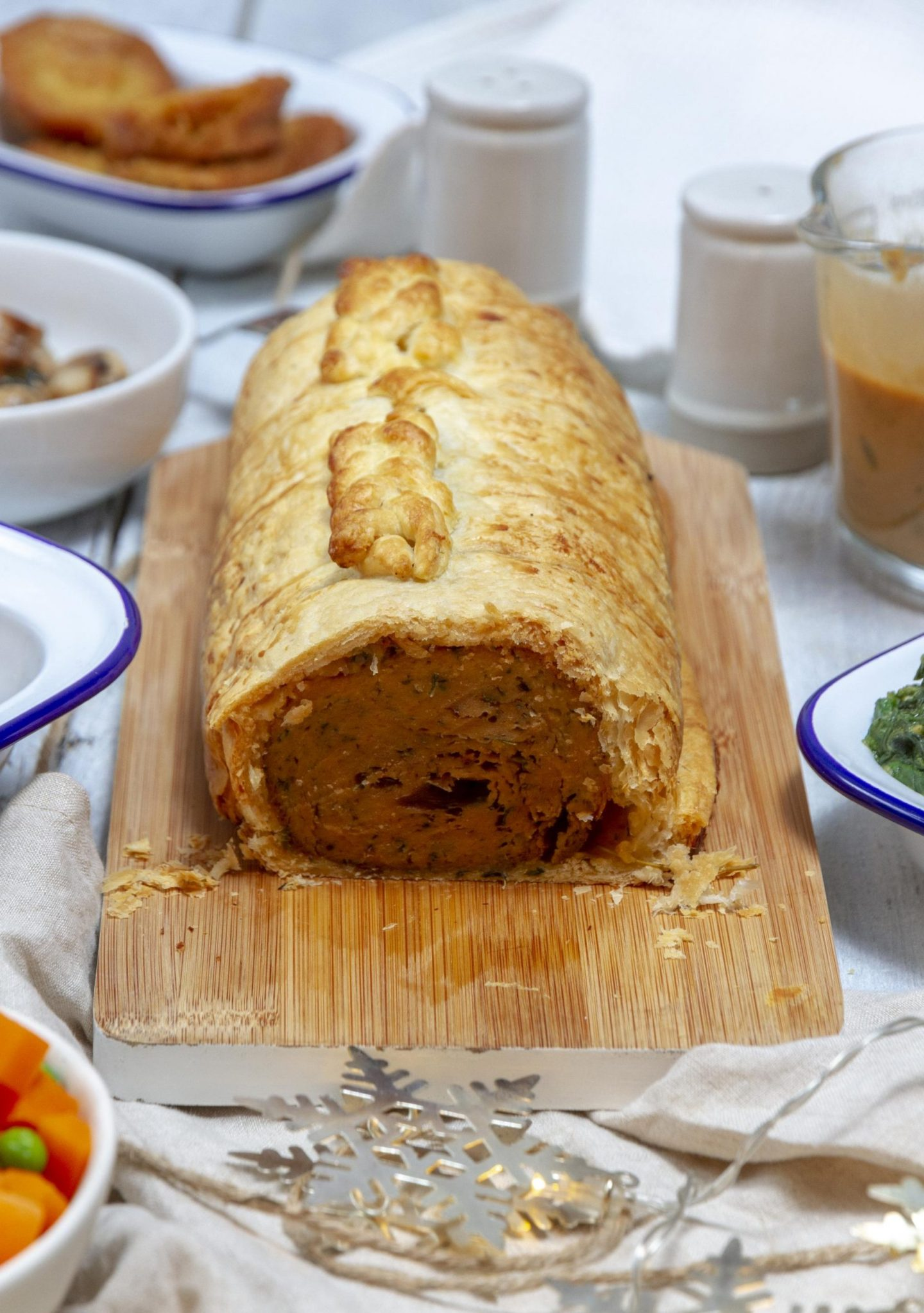 Festive Vegan Seitan Wellington Recipe