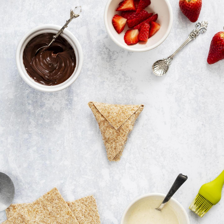 Vegan Chocolate Samosas