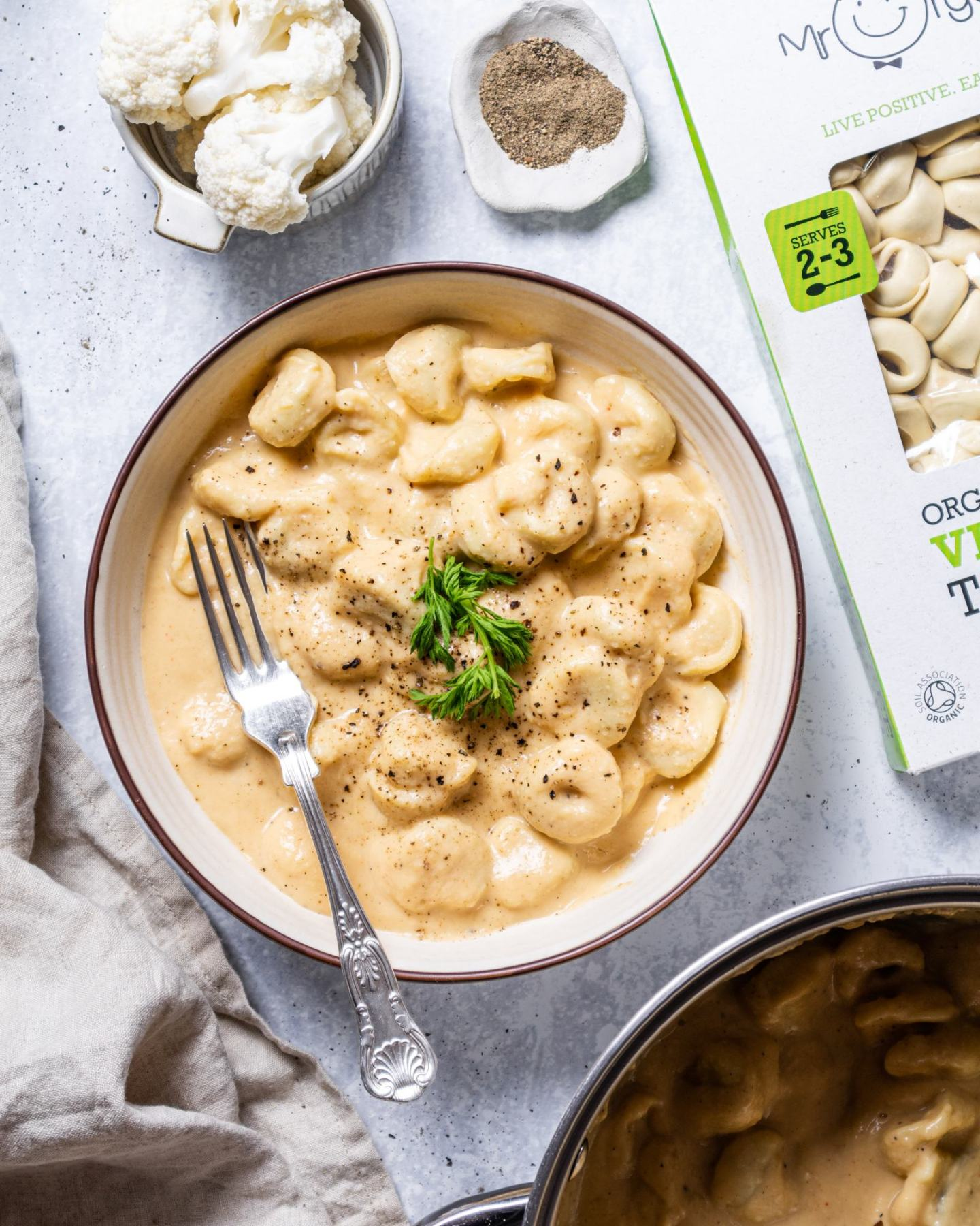 Vegan Cauliflower Alfredo Recipe
