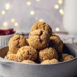 Tofu Cranberry Balls