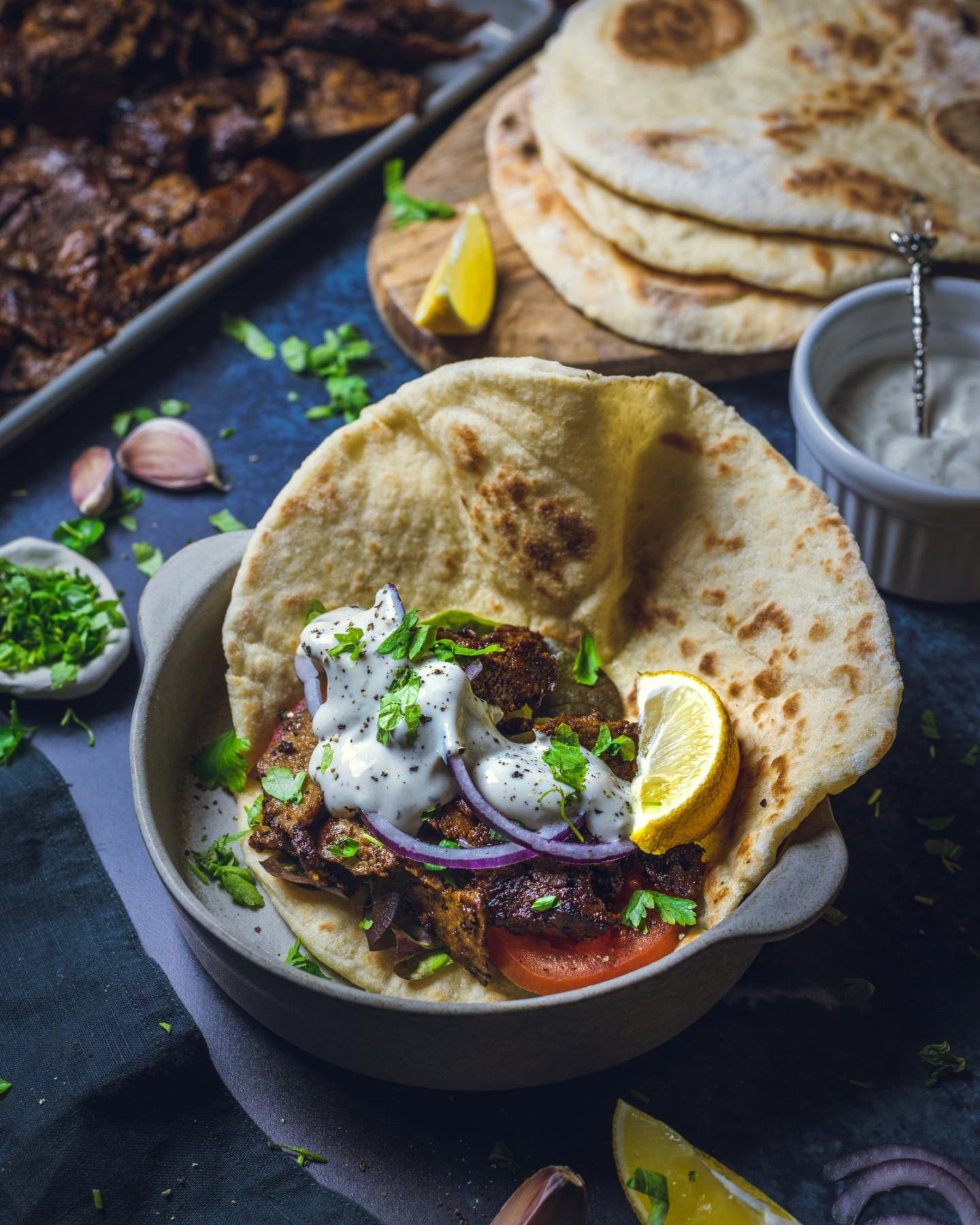 Vegan Kebab Meat Recipe