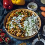 Easy Vegan Red Lentil Dhal Recipe