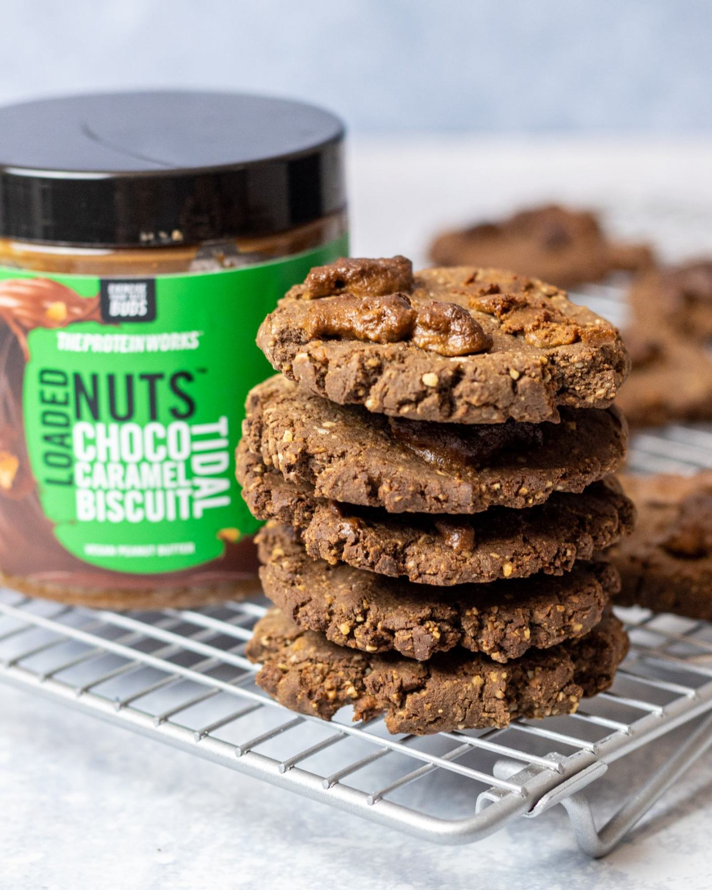 Low Carb Chocolate Protein Cookies