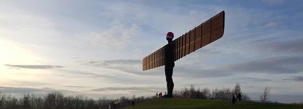 Angel of the North - Panoramic
