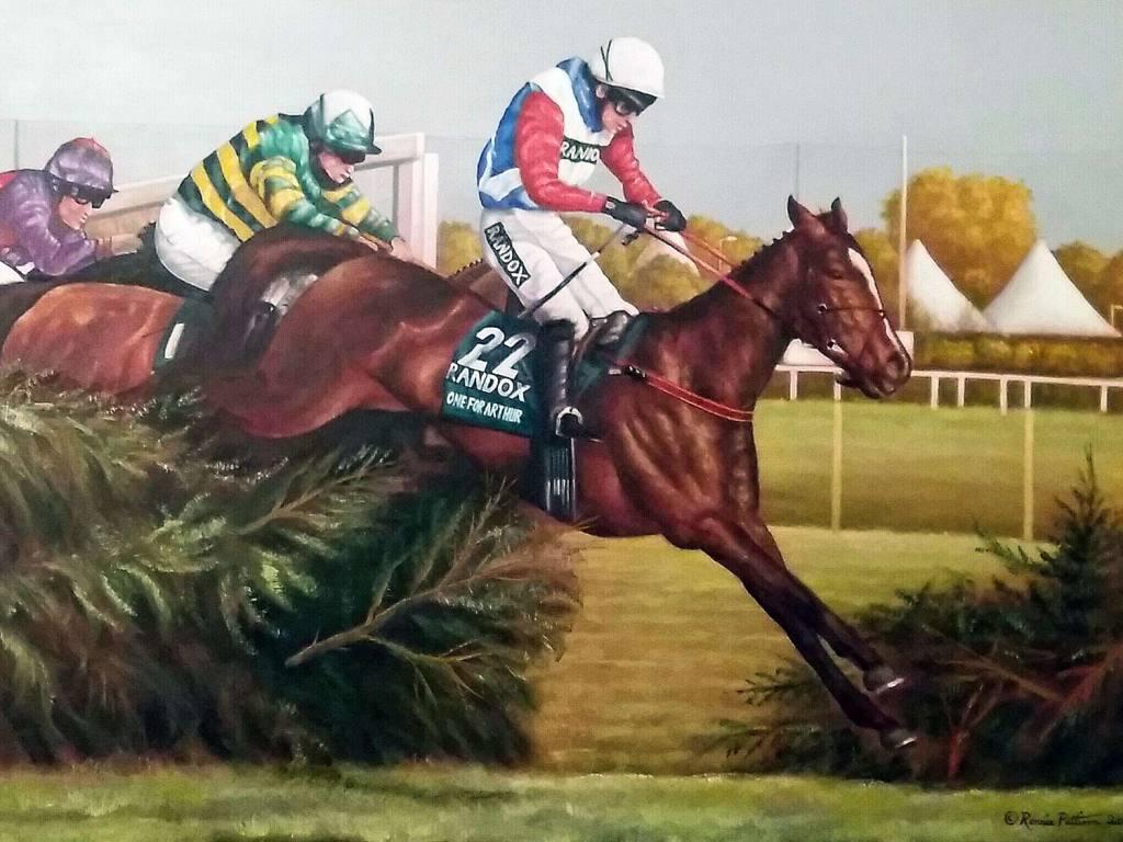 One For Arthur - Animal Portrait Painting