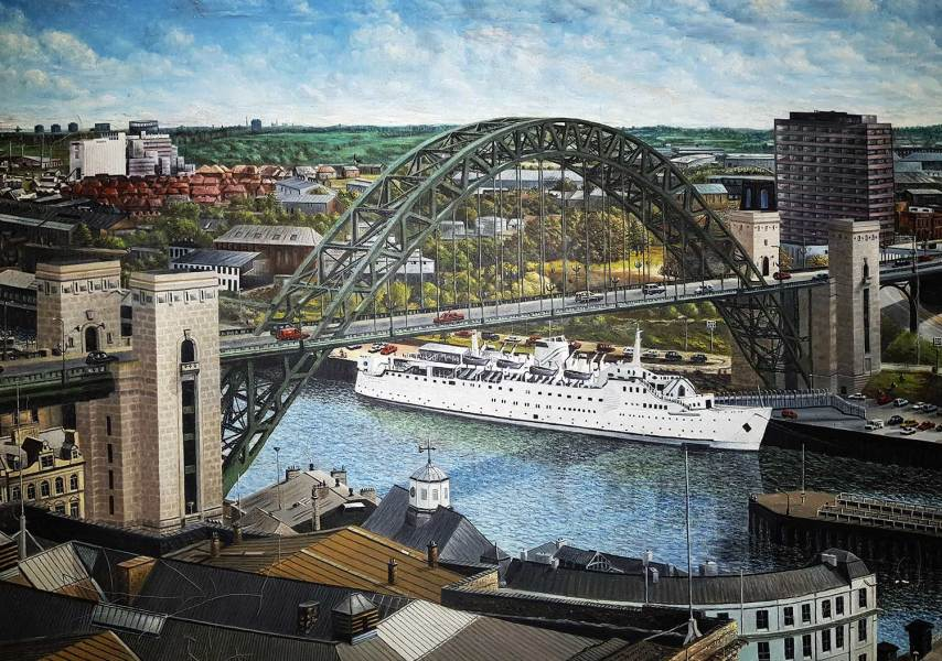 Tyne Bridge Painting