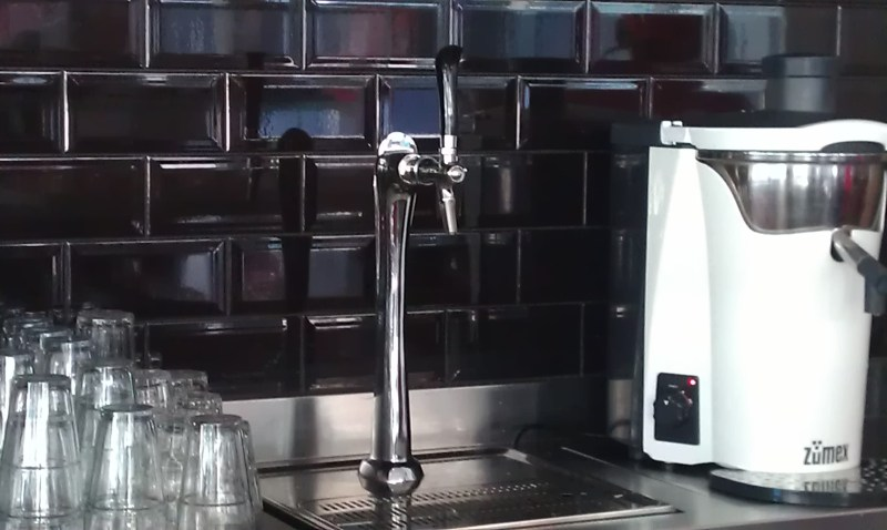 Beer on tap!