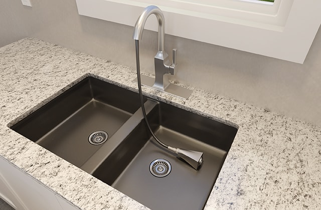 install a new kitchen faucet rona