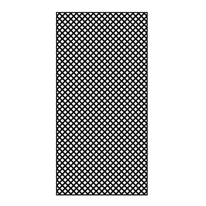 Treilis En PCV 4 Pi X 8 Pi Noir RONA