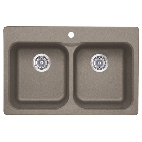 Double Kitchen Sink Vision 210 RONA