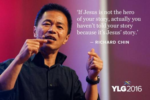 Richard Chin: your story is Jesus' story!
