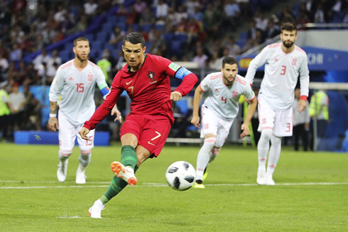 Portugal 3-3 Spain. Ronaldo shows what legends are made of
