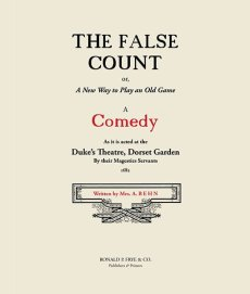 The False Count: A Comedy
