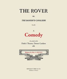 The Rover: A Comedy  Part II