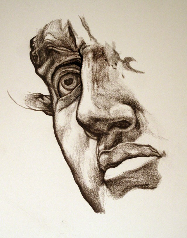 'DAVID' - Pencil on paper - 35cm x 25cm - 2014