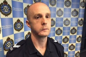 South Aus Police Assoc injured officer