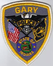 Gary IN police patch