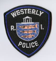 Westerly police patch RI