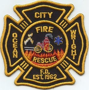 Ocean City fire patch