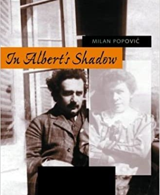 The cover of a book, In Albert's Shadow, about Mileva Maric