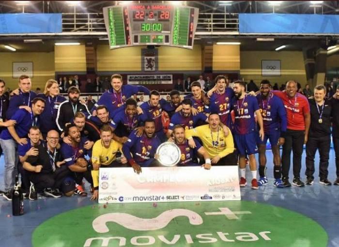 El Barcelona Lassa ha acabado el año siendo capaz de calmar las aguas y cambiar una dinámica que estaba cogiendo tintes peligrosos, gracias a la solvente victoria en la Copa ASOBAL, disputada el pasado fin de semana en León
